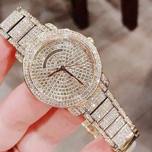 Michael Kors Rose gold with glitz women's watch
